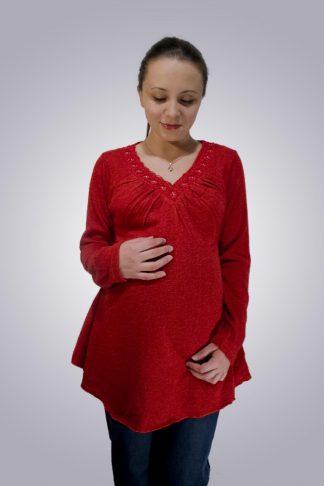 Bluza gravide cu accesorii 6 - fata