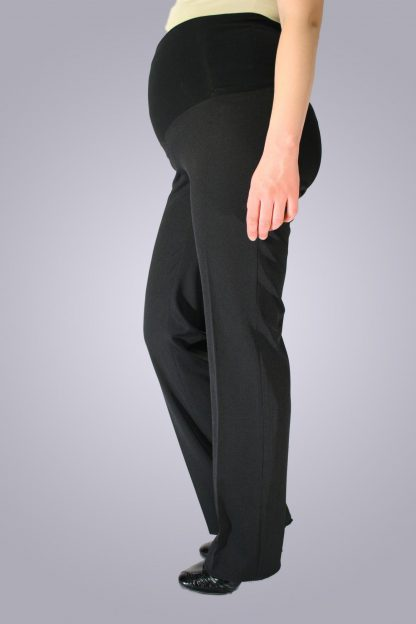 Pantalon office de gravide - lateral