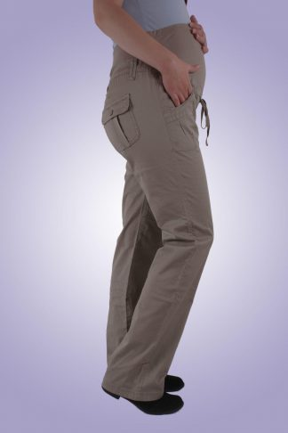 Pantaloni gravide casual 3 - lateral