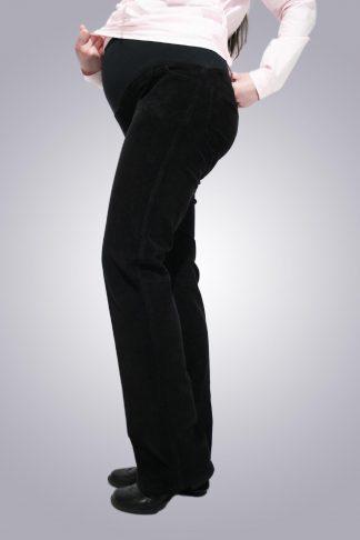 Pantaloni gravide de jeans 7 - lateral