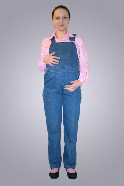 Salopeta gravide de blug 2 - fata