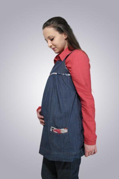 Bluza gravide de blug 3 - lateral