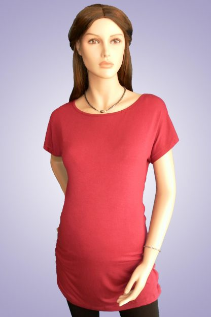 Bluza gravide de bumbac 12 - lateral