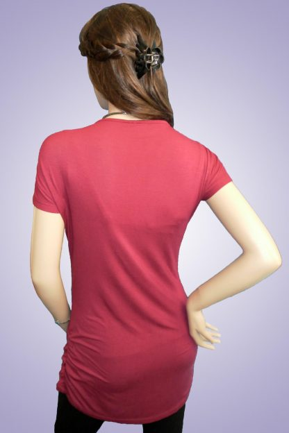 Bluza gravide de bumbac 12 - spate