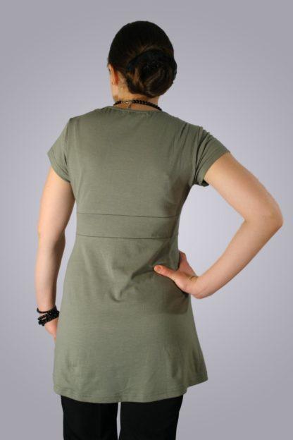 Bluza gravide de bumbac 3 - spate