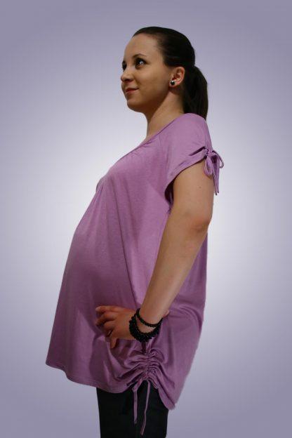 Bluza gravide de bumbac 8 - lateral