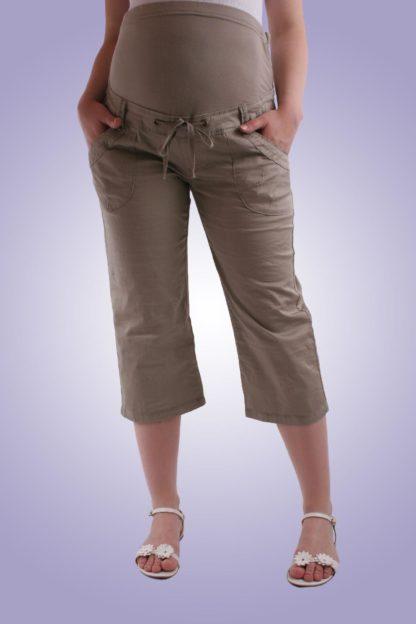 Pantalon gravide casual 5 scurt - fata