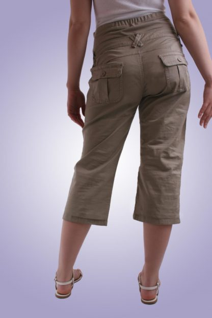 Pantalon gravide casual 5 scurt - spate