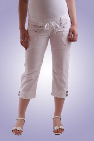 Pantalon gravide casual 6 scurt - fata