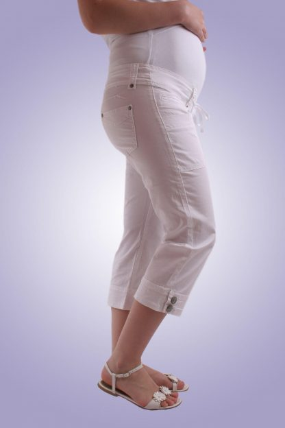 Pantalon gravide casual 6 scurt - lateral