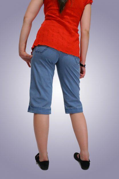 Pantalon gravide de blug 16 scurt - fata