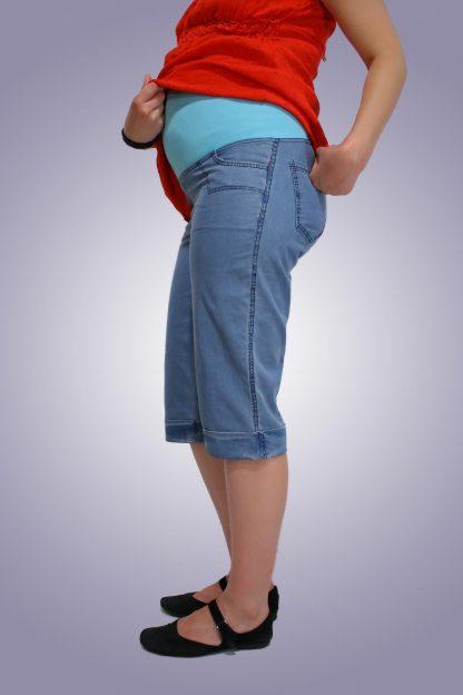 Pantalon gravide de blug 16 scurt - spate
