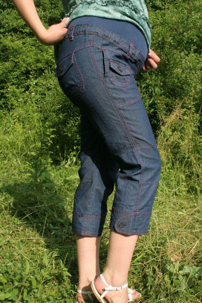 Pantalon gravide de blug 29 scurt - lateral