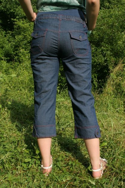 Pantalon gravide de blug 29 scurt - spate