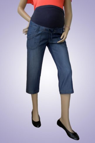 Pantalon gravide de blug 34 scurt - fata