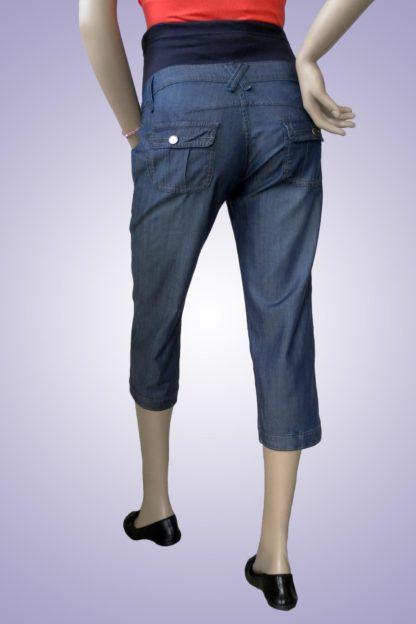 Pantalon gravide de blug 34 scurt - spate