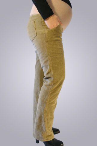 Pantalon gravide de jeans 2 lateral