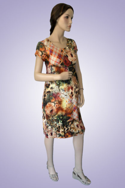 Rochie gravide din bumbac 18 - lateral