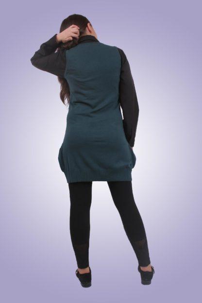 Sarafan gravide casual scurt 1 - spate