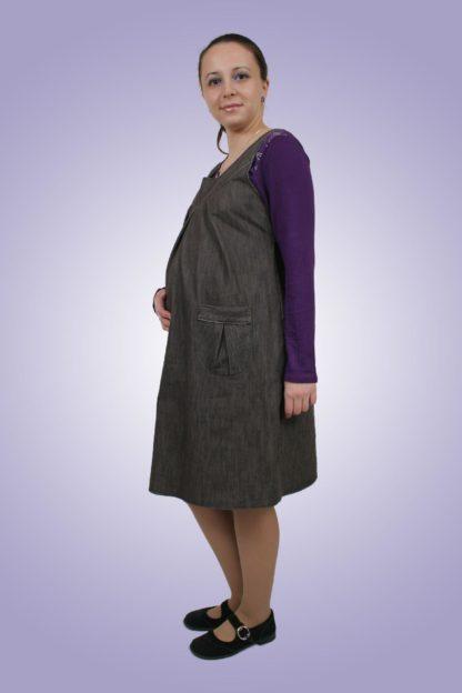 Sarafan gravide de blug 7 - lateral