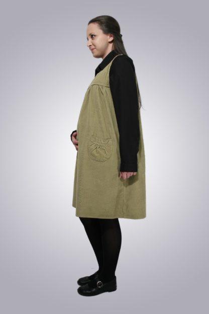 Sarafan gravide de jeans 3 - lateral