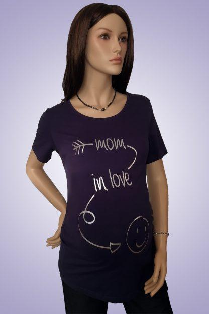 Tricou gravide imprimat 2 - fata